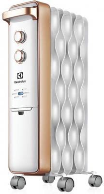 Масляный радиатор Electrolux Wave EOH/M-9157 1500 Вт термостат ручка для переноски серебристый
