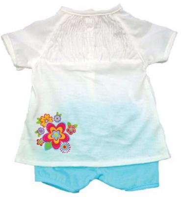 Одежда для куклы Mary Poppins 38-43см, белая кофточка и голубые штанишки 452077