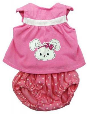 Одежда для куклы Mary Poppins 38-43см, кофточка и штанишки, цвет розовый 452074