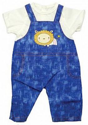 Одежда для куклы Mary Poppins 38-43см, комбинезон с футболкой 452070