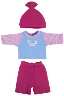 Купить Одежда для кукол Mary Poppins Зайка - кофточка, брючки и шапочка, Аксессуары для кукол