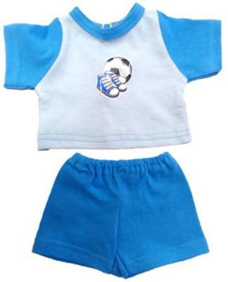Одежда для куклы Mary Poppins 38-43см, футболка и шорты Спорт 216