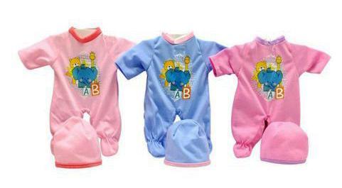 Одежда для куклы Shantou Gepai 30 см Слоник, цвета в ассорт. C1105-16