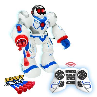 Робот на радиоуправлении Longshore Limited Xtrem Bots пластик  5 лет белый