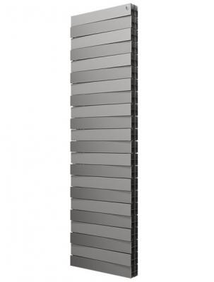 Радиатор Royal Thermo PianoForte Tower/Silver Satin 22 секции RTPPFTSS50022 радиатор royal thermo pianoforte 500 silver satin 4 секции