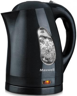 Чайник Maxwell MW-1014 GY 2200 Вт чёрный 1.7 л пластик детектор cem la 1014