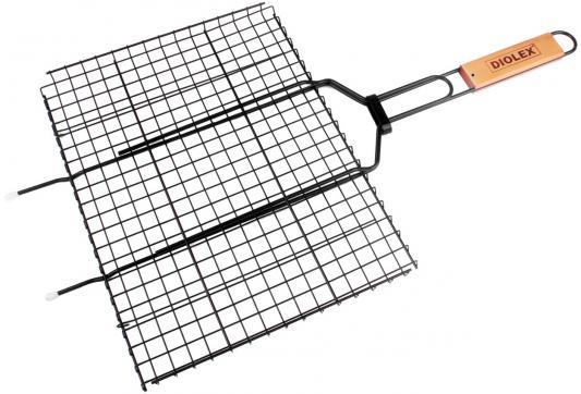 Решетка-гриль Diolex DX-M1203-B 35x26см решетка гриль diolex dx m1203 35x26см
