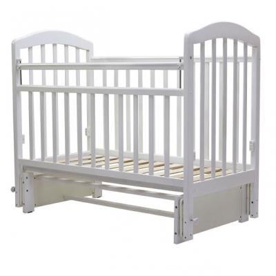 Кроватка с маятником Топотушки Лира-5 (арт. 32/белый)