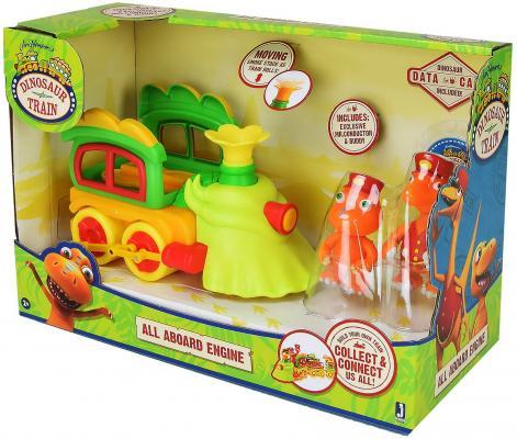 Игровой набор Tomy Поезд динозавров 8 см игровые фигурки happy kin набор динозавров 41098