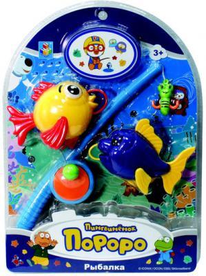"""Рыбалка 1toy """"Пингвинёнок Пороро: Рыбалка"""" 130 предметов"""