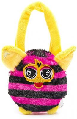 Плюшевая игрушка Furby сумочка в полоску 12 см, хенгтег игрушка 1toy подушка furby сердце т57474