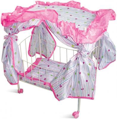 Кроватка для кукол 1Toy Т52273