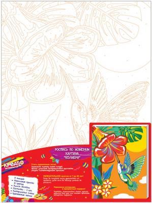 Набор для росписи по холсту Креатто Колибри от 3 лет 30897 набор для росписи по холсту креатто такса от 3 лет 30170