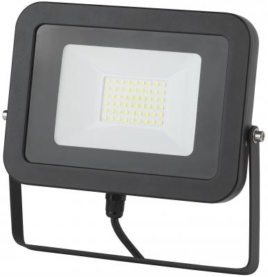 Прожектор ЭРА LPR-50-4000К-М SMD Eco Slim черный фонарь брелок эра 1xled с лазерной указкой