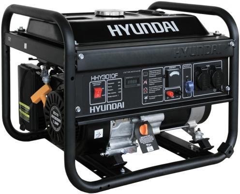 Генератор Hyundai HHY 3010F 7 л.с бензиновый  генератор бензиновый hyundai hhy 5000f