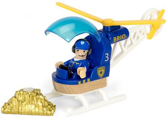 """Игровой набор Brio Полицейский вертолет"""",3 эл.,19х9х13см,кор."""