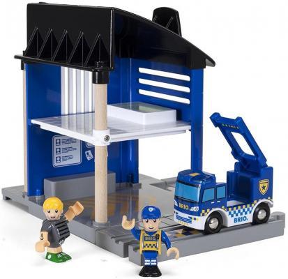 """Игровой набор Brio Полицейский участок"""",6 эл.,свет,звук,25х17х25см,кор."""