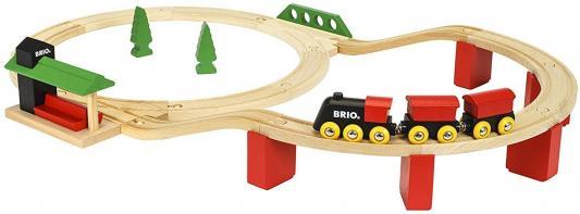 Железная дорога Brio Классика Делюкс с 2-х лет железная дорога brio 2 уровневая с вокзалом с 3 х лет