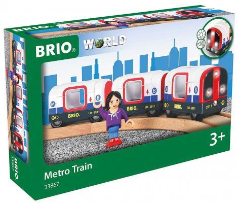Железная дорога Brio Лондонское Метро с 3-х лет 33867 железная дорога brio железная дорога сельская местность с 3 х лет 7312350339161