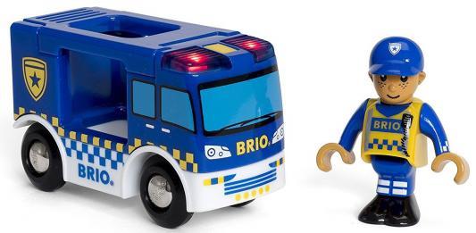 Полиция Brio Полиция с 3-х лет 7312350338256 погрузчик с вращением с магнитом блист brio