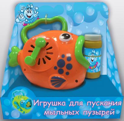 Мыльные пузыри 1Toy Мы-шарики мыльная машина, рыба с ручкой 60 мл разноцветный