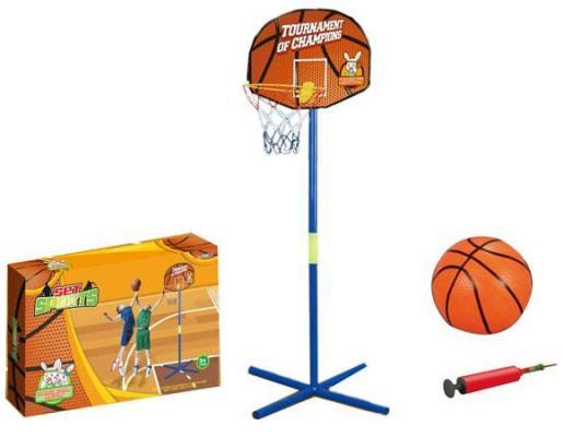 Купить Баскетбольная стойка 1toy с мячом Т10010, Спортивные товары