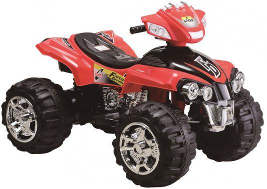 Квадроцикл аккумуляторный 1toy р-р 1р-р 112х70х74см, красный