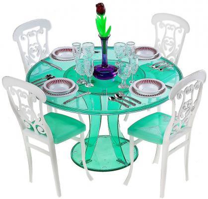"""Набор мебели 1Toy """"Красотка"""" - Обеденный стол Т52117"""