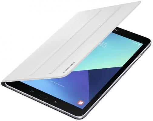"Чехол Samsung для Samsung Galaxy Tab S3 9.7"" Book Cover полиуретан/поликарбонат белый EF-BT820PWEGRU от 123.ru"
