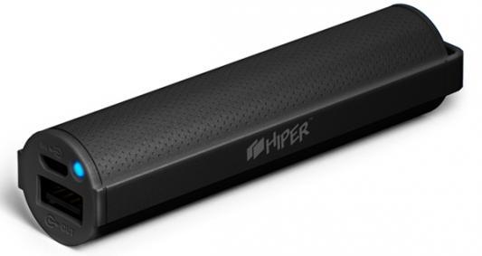 Портативное зарядное устройство HIPER SP2600 2600мАч черный