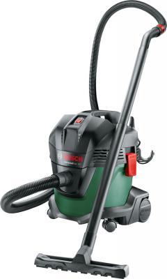 цена Пылесос Bosch UniversalVac15 сухая уборка зелёный чёрный