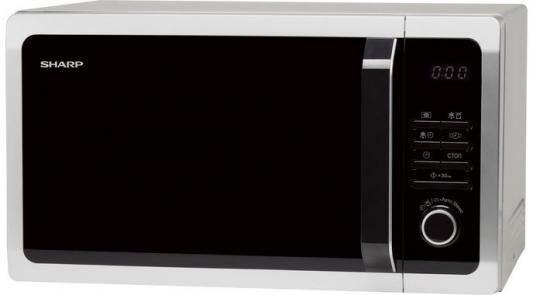 СВЧ Sharp R3852RSL 900 Вт серебристый