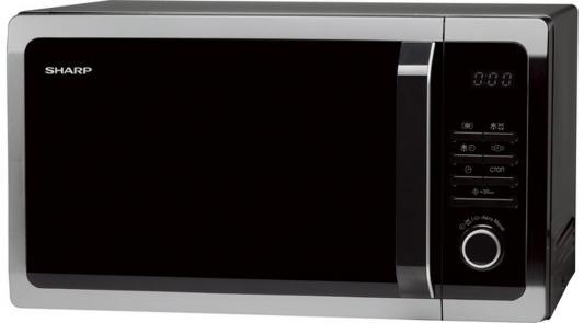 СВЧ Sharp R3852RK 900 Вт чёрный серебристый