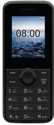 Мобильный телефон Philips E106 черный (867000143211) мобильный телефон philips e116 черный