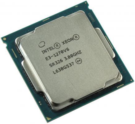 Процессор Intel Xeon E3-1270v6 3.8GHz 8Mb LGA1151 OEM