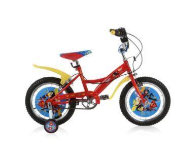 Велосипед Navigator Super Hero Girls 12 красный navigator велосипед super hero girls kite тип с 5 лет