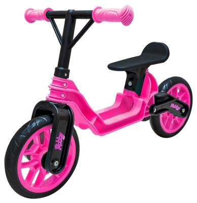 """Беговел RT Hobby bike Magestic 10"""" розово-черный"""