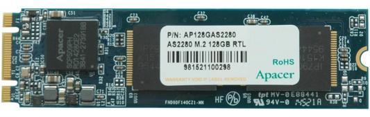 Твердотельный накопитель SSD M.2 240GB Apacer AS2280 Read 534Mb/s Write 431Mb/s SATAIII AP240GAS2280-1 сотейник scovo stone pan с крышкой с мраморным покрытием диаметр 26 см
