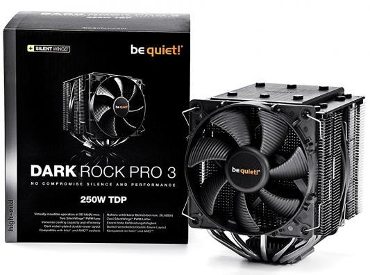 Кулер для процессора Be quiet! Dark Rock Pro 3 BK019 Socket 775/1150/1151/1155/1156/1356/1366/2011/2011-3/AM2/AM2+/AM3/AM3+/FM1/FM2