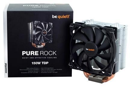 Кулер для процессора Be quiet! Pure Rock BK009 Socket 775/1150/1151/1155/1156/1356/1366/2011/2011-3/AM2/AM2+/AM3/AM3+/FM1/FM2/FM2+ от 123.ru