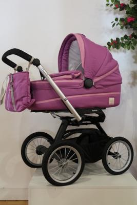 Купить Коляска для новорожденного Inglesina Outtto на шасси Quad XT Black (AB20B6FUX + AE64G0000), розовый, Коляски для новорожденных