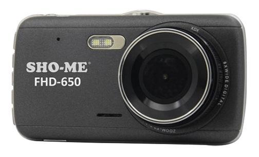 "Видеорегистратор Sho-Me FHD-650 4"" 1920x1080 120° G-сенсор USB microSD microSDHC цена и фото"