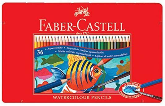 Набор цветных карандашей Faber-Castell Рыбки 36 шт 115931 набор цветных карандашей faber castell