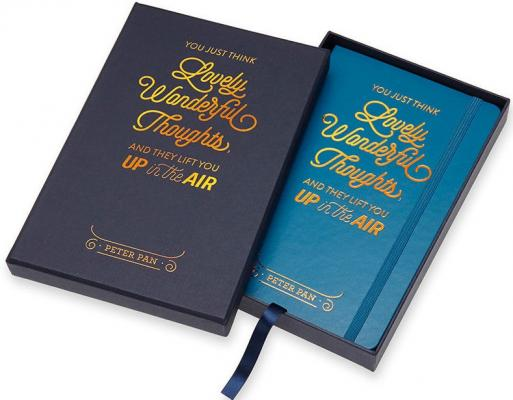 Блокнот Moleskine Limited Edition Peter Pan Large 130х210 мм 240 листов от 123.ru