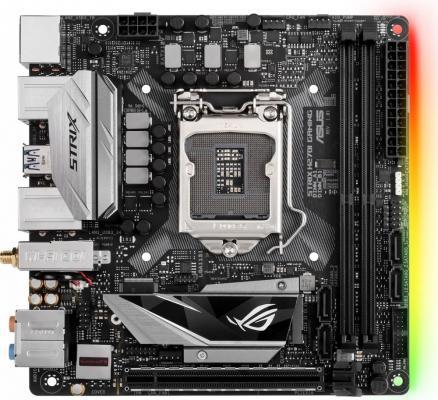 Мат. плата для ПК ASUS ROG STRIX H270I GAMING Socket 1151 H270 2xDDR4 1xPCI-E 16x 4xSATAIII mini-ITX Retail