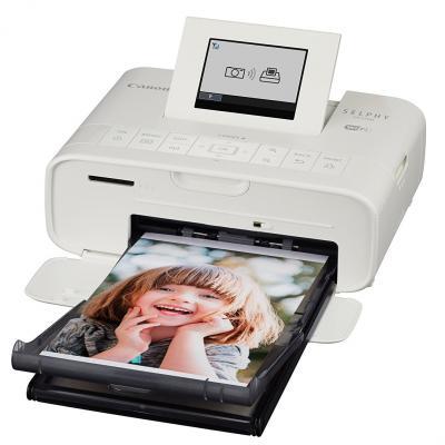 Принтер Canon Selphy CP1200 цветной A6 300x300dpi Wi-Fi USB белый 0600C002