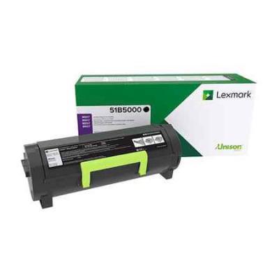 Картридж Lexmark 51B5000 для MS3/4/5/61x черный compatible toner lexmark c930 c935 printer laser use for lexmark refill toner c940 c945 toner bulk toner powder for lexmark x940