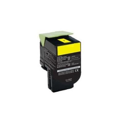 Картридж Lexmark 70C8HYE для Lexmark CS310/CS410/CS510 желтый 3000стр compatible toner lexmark c930 c935 printer laser use for lexmark refill toner c940 c945 toner bulk toner powder for lexmark x940