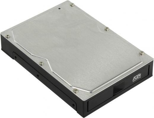 Внешний контейнер для HDD 2.5 3.5 SATA AgeStar 3CB2A USB3.0 пластик/металл черный