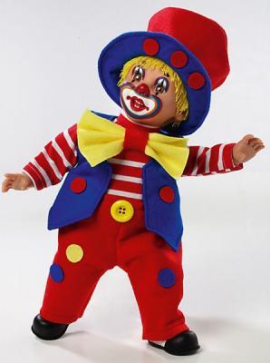 Купить Кукла Arias Клоун 38.5 см мягкая, текстиль, Классические куклы и пупсы
